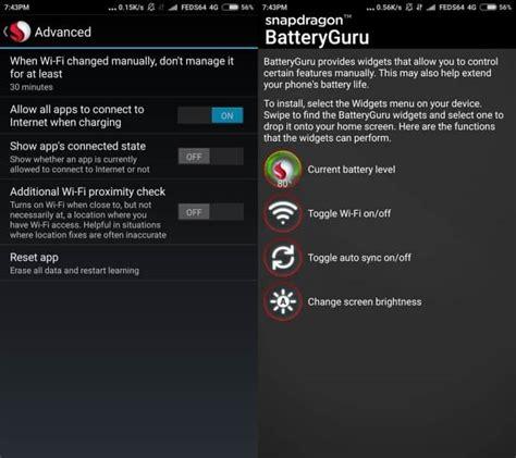 batteryguru apk snapdragon batteryguru 3 0 improves your battery
