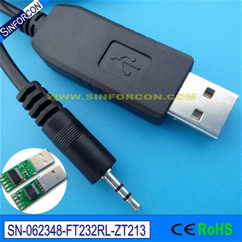 Cable Usb232 With Cable Pc 3 5 Adapt Ser Usb win10 mac android ftdi ft232 usb rs232 to 2 5mm mini audio