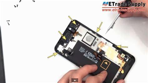 Pinset Telinga masalah z10 blackberry cara perbaikan komponen
