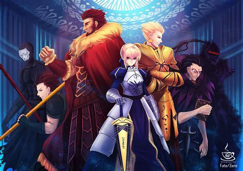 Fate 0 Anime by Homunculi Fmab Vs The Servants Fate Zero Battles