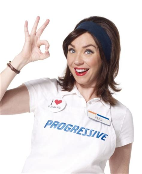 geico commercial actress flo watch progressive s 100th ad with flo scene and heard
