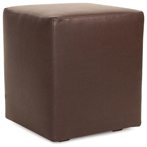 ottomans and cubes howard elliott avanti pecan universal cube ottoman