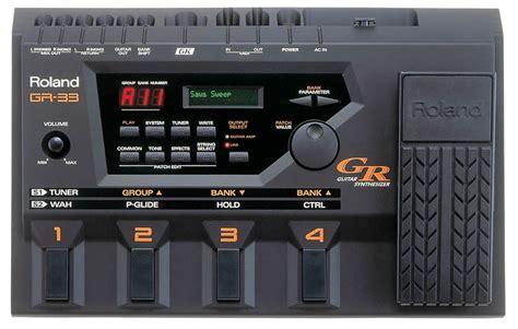 audio format gk roland gr 33 guitar synthesizer download instruction