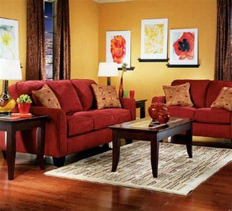 red sofa yellow walls pinterest the world s catalog of ideas