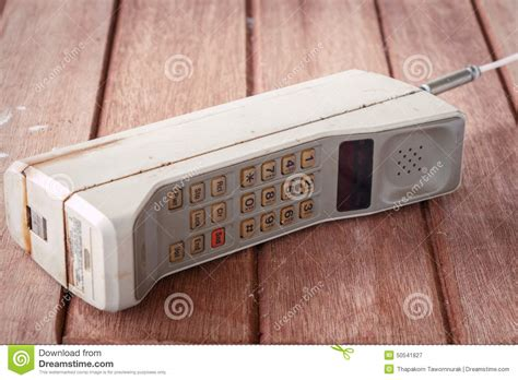 mobile vintage vintage mobile phone stock photo image 50541827