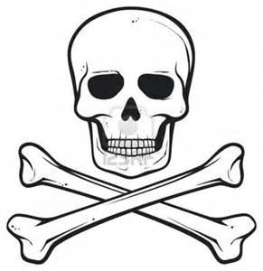 16004965 Skull And Bones Pirate Symbol  Lifeofyabloncom sketch template