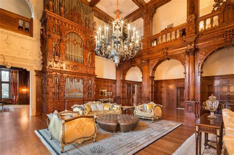 design house decor nj 100 year new jersey castle with 58 rooms hits the market for 48m 6sqft