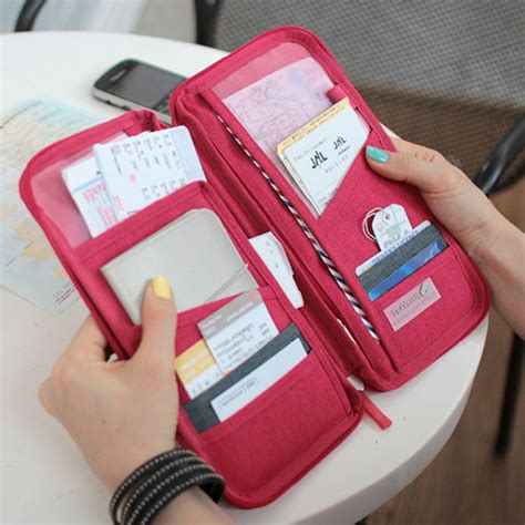 Pasport Bag Organizer Tas Pasport Pasport Holder Dompet Pasport 1 travel us handy organizer bag money passport card document holder cover wallet ebay