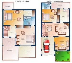7 5 46 Size Houses Map Design house designs in pakistan