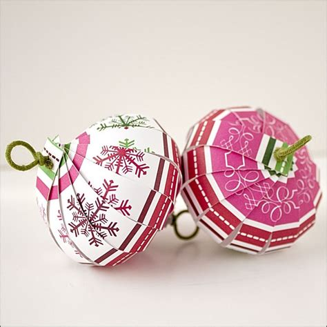 How To Make Paper Ornaments - 10 easy diy ornaments you can make out of paper porch advice
