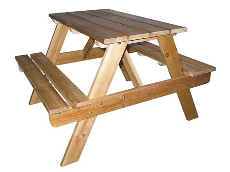 picnic bench table woodwork outdoor picnic tables pdf plans