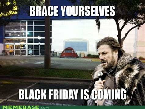 Funny Black Friday Memes - why shopping in store on black friday is a fail