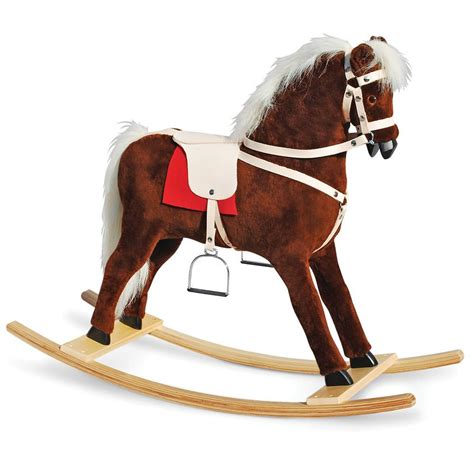 Handmade Rocking Horses - the handmade rocking hammacher schlemmer