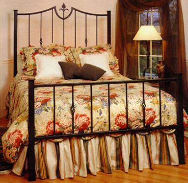 forged iron beds forged rod iron fleur de lis beds
