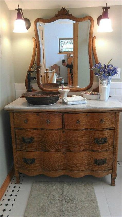 Vintage Dresser Vanity by 26 Bathroom Vanity Ideas Decoholic