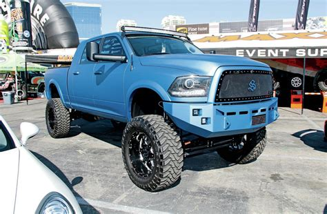 toyota truck lifted the lifted trucks of sema 2014