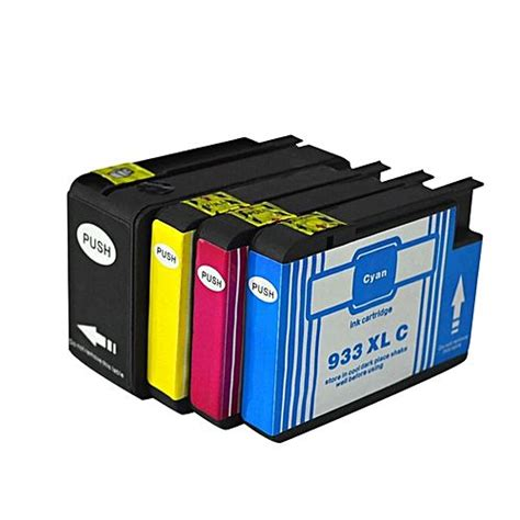 Hp Ink 933 Black generic 4 pack hp 932 932xl 933 933xl compatible replacement high yield ink cartridges black