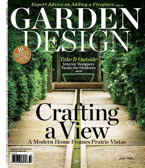 gm in garden design magazine of garden design