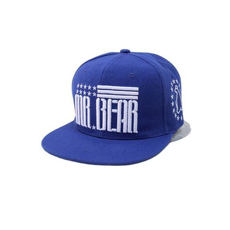 fashion snapback hats fashion mens bboy brim adjustable baseball cap snapback