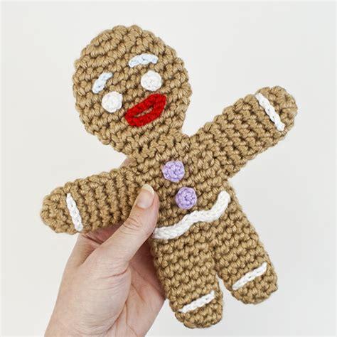 crochet pattern gingerbread man blog planetjune by june gilbank 187 amigurumi gingy