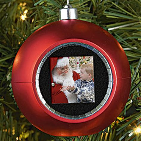 digital photo christmas ornament