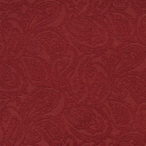 matelasse upholstery fabric red traditional paisley woven matelasse upholstery grade