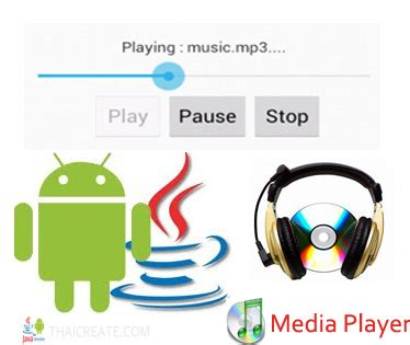 tutorial android media player android seekbar control mediaplayer progress