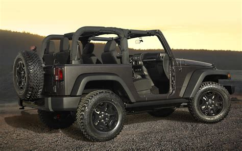 Jeep Edition 2014 Jeep Wrangler Willys Wheeler Edition Unveiled