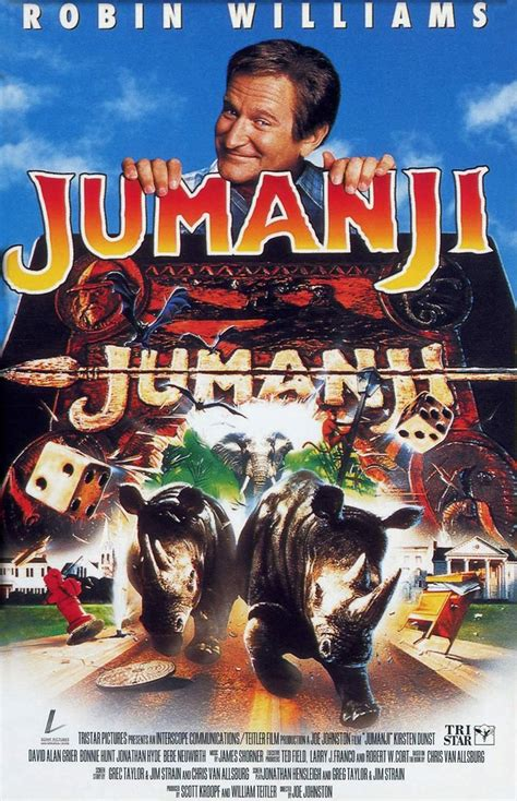 Jumanji Movie Poster | jumanji 1995 poster 1 trailer addict