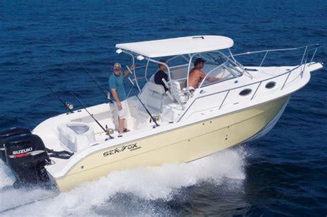 sea fox boats specifications research sea fox 287 wa walkaround boat on iboats