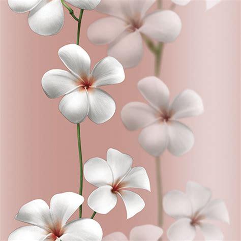 Wallpaper Stiker Bunga 10 M 10 jual wallpaper bunga kamboja flower uk 15m x 1m roll besar promo murah di lapak