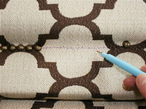 Nail Trim Headboard Diy by How To Upholster A Headboard With Nail Trim How Tos Diy
