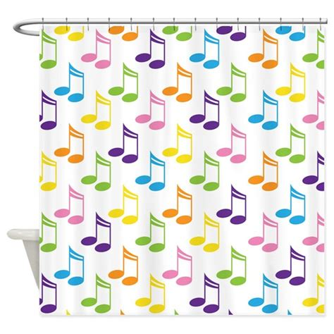 music notes shower curtain colorful music notes musical shower curtain by milestonesmusic