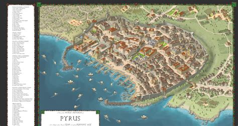 Online Building Map Maker fantasy city map generator