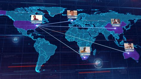 24 Cool After Effects Templates For Map Desiznworld Map Animation After Effects Template