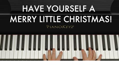 play    merry  christmas  piano easy youtube