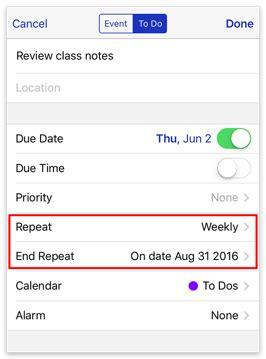 Do Calendars Repeat Busycal Ios To Dos