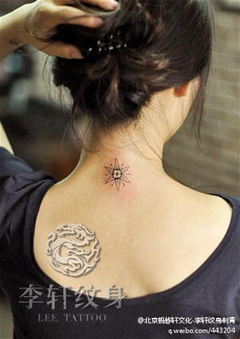 tattoo behind the neck little star tattoo behind the neck star tattoo tattoo