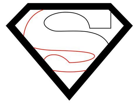 draw logo how to draw the superman logo draw central