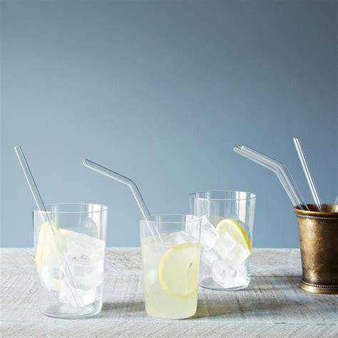 Glass Straws (Set of 4) on Food52