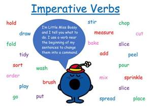 imperative verbs word mat by loulibby80 teaching