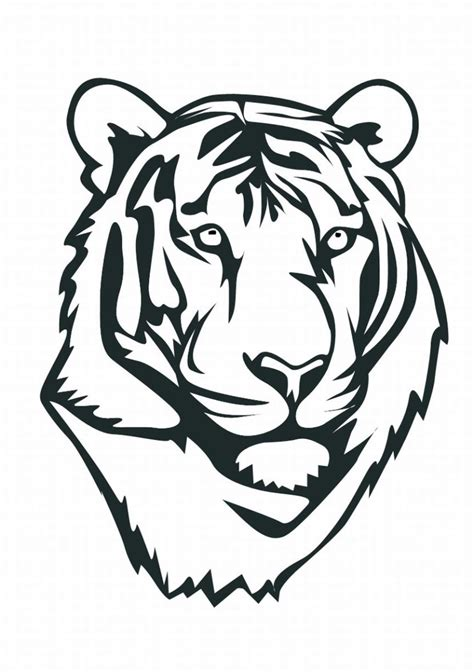 coloring pages of tiger face tiger coloring pages tiger coloring pages 3 lrg