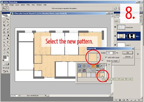 floor plan textures tutorial adding textures furniture and shadows in adobe