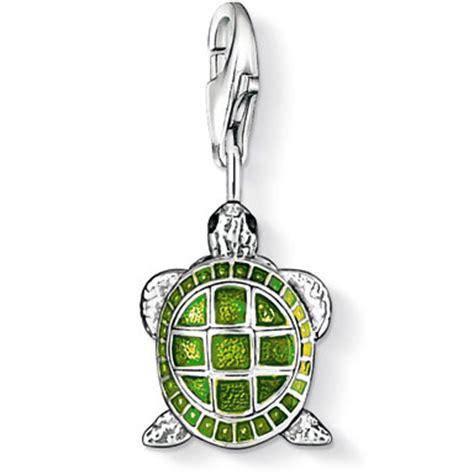 Popits Charm Sea Turtle sabo turtle charm sterling silver precious accents ltd