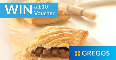 Greggs Gift Card - free competition for 163 10 greggs gift card winneroo