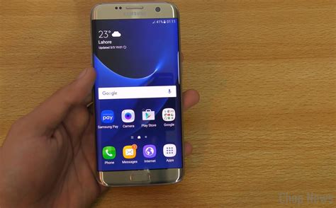 samsung galaxy  edge review chop news