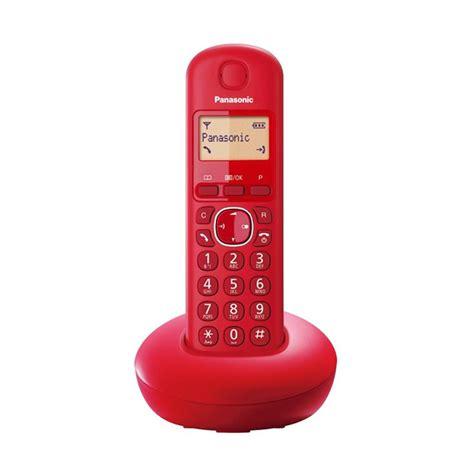 Telepon Wireless Panasonic Kx Tgc210 Termurah jual telepon wireless panasonic kx tgb210 telepon wireless rumah kantor harga