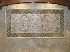 kitchen tile murals tile backsplashes stoneimpressions elegante kitchen backsplash