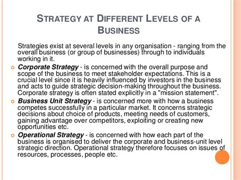 What Is An Mba In Strategy by 2nd Mba Strategic Management