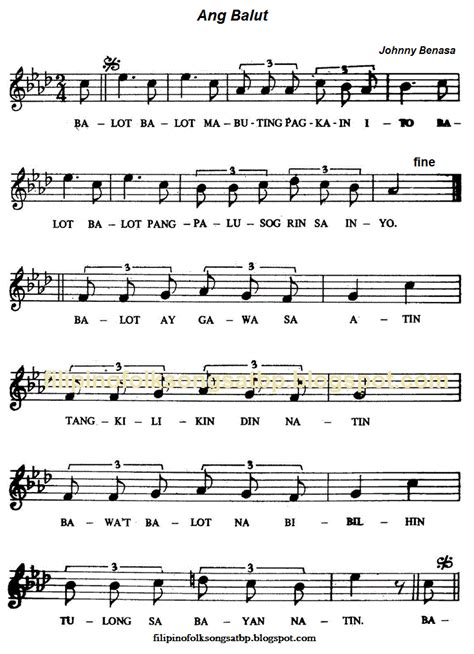 song lyrics tagalog traditional folk songs american canadian